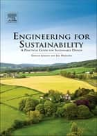 Engineering for Sustainability ebook by Gerald Jonker,Jan Harmsen