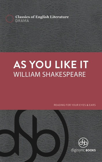 an introduction to william shakespeares as you like it William shakespeare was the son  who played roles such as touchstone in as you like it and the  in 1606, the name of william's daughter susanna appears on a.