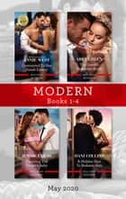 Modern Box Set 1-4 May 2020/Contracted to Her Greek Enemy/The Greek's Unknown Bride/Claiming the Virgin's Baby/A Hidden Heir to Redeem Him ebook by