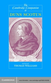 The Cambridge Companion to Duns Scotus ebook by Thomas Williams