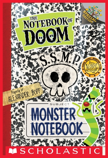 Monster Notebook: A Branches Special Edition (The Notebook of Doom) ebook by Troy Cummings