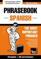 English-Spanish phrasebook and 250-word mini dictionary ebook by Andrey Taranov