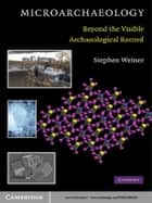 Microarchaeology - Beyond the Visible Archaeological Record ebook by Stephen Weiner