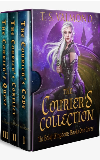 The Courier's Collection - The Bolaji Kingdoms Books One-Three ebook by T.S. Valmond