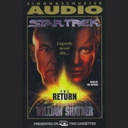 The Star Trek:The Return audiobook by William Shatner