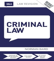 Q&A Criminal Law ebook by Norman Baird