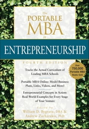 The Portable MBA in Entrepreneurship ebook by William D. Bygrave,Andrew Zacharakis