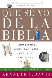 Que Se Yo de la Biblia ebook by Kenneth C. Davis