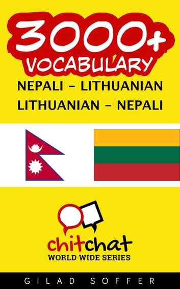 3000+ Vocabulary Nepali - Lithuanian ebook by Gilad Soffer