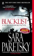 Blacklist ebook by Sara Paretsky