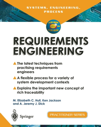 Requirements Engineering Processes And Techniques Ebook