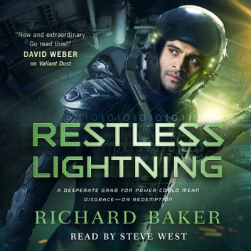 Restless Lightning - Breaker of Empires, Book 2 audiobook by Richard Baker