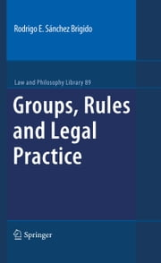 Groups, Rules and Legal Practice ebook by Rodrigo Eduardo Sánchez Brigido