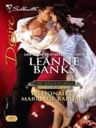 Billionaire's Marriage Bargain ebook by Leanne Banks