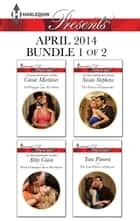 Harlequin Presents April 2014 - Bundle 1 of 2 - A D'Angelo Like No Other\When Christakos Meets His Match\The Purest of Diamonds?\The Last Prince of Dahaar ebook by Carole Mortimer, Abby Green, Susan Stephens,...