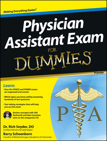 Physician assistant exam for dummies ebook by barry schoenborn physician assistant exam for dummies ebook by barry schoenbornrichard snyder fandeluxe Gallery