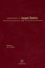 Advances in Inorganic Chemistry ebook by Sykes, AG