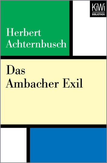 Das Ambacher Exil ebook by Herbert Achternbusch