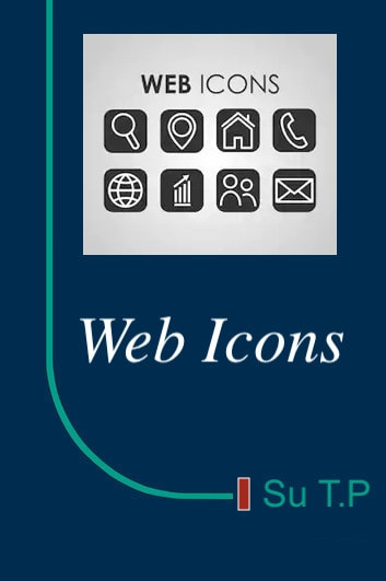 Web Icons - Web Icons Tutorial ebook by Su TP