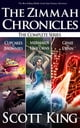 The Zimmah Chronicles: The Complete Series - An Epic Middle Grade Fantasy Adventure ebook by Scott King