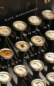 A Book of Great Worth ebook by Dave Margoshes