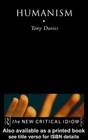 Humanism ebook by Davies, Tony