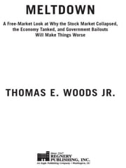 Meltdown - A Free-Market Look at Why the Stock Market Collapsed, the Economy Tanked, and the Government Bailout ebook by Thomas E. Woods, Jr.