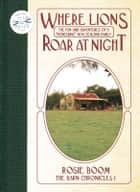 Where Lions Roar at Night ebook by Rosie Boom