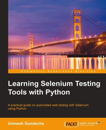 Selenium Testing Tools Cookbook Ebook