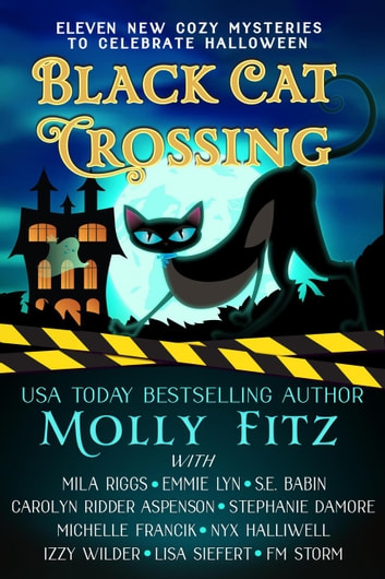 Black Cat Crossing: A Collection of 11 Cozy Mysteries to Celebrate Halloween ebook by Molly Fitz,Emmie Lyn,S.E. Babin,Mila Riggs,Carolyn Ridder Aspenson,Stephanie Damore,Michelle Francik,Nyx Halliwell,Izzy Wilder,Lisa Siefert,F.M. Storm
