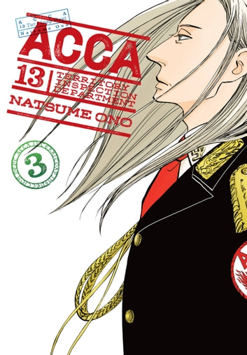 ACCA 13-Territory Inspection Department, Vol. 3 eBook by Natsume Ono