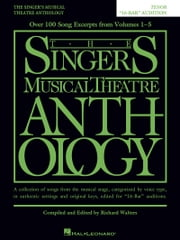 "The Singer's Musical Theatre Anthology - ""16-Bar"" Audition - Tenor Edition ebook by Hal Leonard Corp."