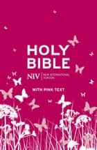 NIV Pink Bible Ebook ebook by New International Version