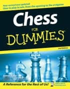 Chess For Dummies ebook by James Eade
