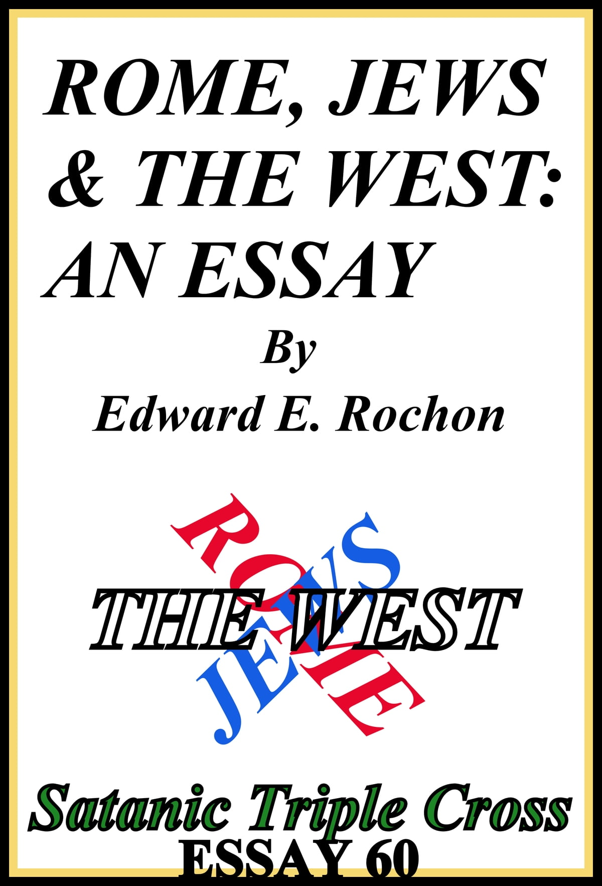 Rome Jews  The West An Essay Ebook By Edward E Rochon  Rome Jews  The West An Essay Ebook By Edward E Rochon     Rakuten Kobo Essay On Good Health also Professional Ghostwriter  Essay About Healthy Eating
