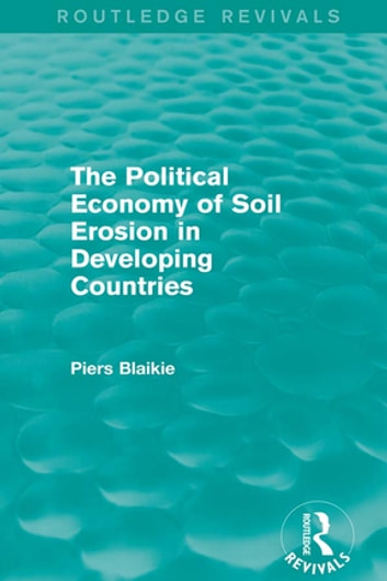 the economics of soil erosion theory Predicts yields and land degradation for different type of land, land use and  cropping patterns the linear  tion' theory which states that, as populations grow  and markets expand, the  16 b barbier / agricultural economics 19 (1998) 15± 25.