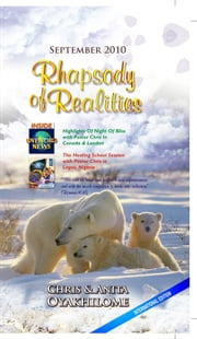 Rhapsody Of Realities September Edition ebook by Pastor Chris Oyakhilome