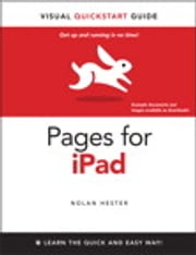 Pages for iPad - Visual QuickStart Guide ebook by Nolan Hester