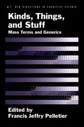 Kinds, Things, and Stuff - Mass Terms and Generics ebook by