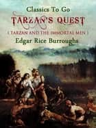Tarzan's Quest ekitaplar by Edgar Rice Borroughs