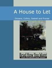 A House To Let ebook by Dickens Collins Gaskell and Procter