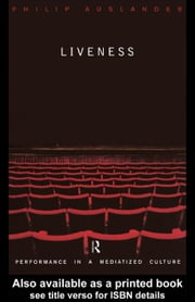 Liveness ebook by Auslander, Philip