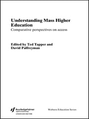 Understanding Mass Higher Education - Comparative Perspectives on Access ebook by David Palfreyman,TED TAPPER