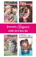 Harlequin Romance June 2015 Box Set - His Unexpected Baby Bombshell\Falling for the Bridesmaid\A Millionaire for Cinderella\From Paradise...to Pregnant! ebook by Soraya Lane, Sophie Pembroke, Barbara Wallace,...