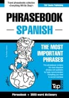 English-Spanish phrasebook and 3000-word topical vocabulary ebook by Andrey Taranov