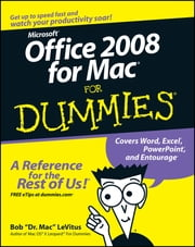 Office 2008 for Mac For Dummies ebook by Bob LeVitus