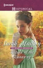 Return of the Runaway ebook by Sarah Mallory