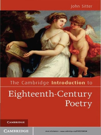 the eighteenth century poetry What goes along with 18th century poetry is the amount of women that are now becoming relevant writers.