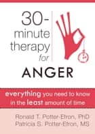 Thirty-Minute Therapy for Anger - Everything You Need To Know in the Least Amount of Time ebook by Ronald Potter-Efron, MSW, PhD,...