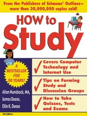 How to Study 5/e ebook by Mundsack, Allan